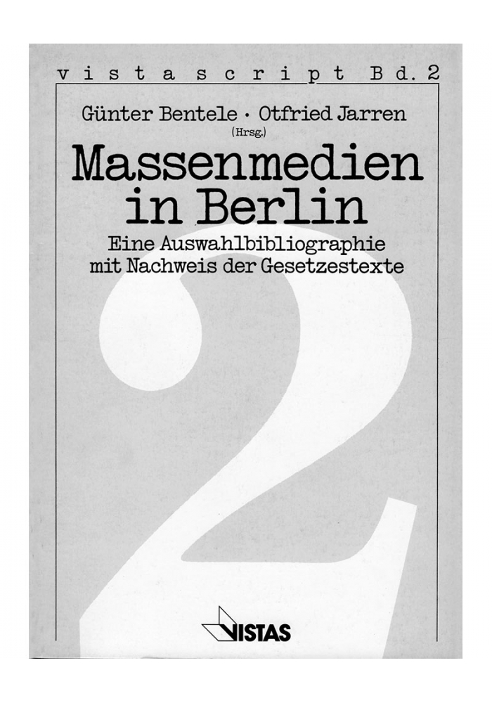 Massenmedien in Berlin